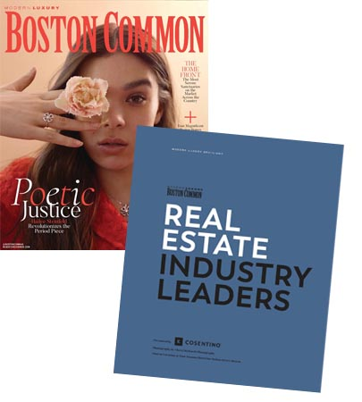 Boston Common magazine's Real Estate Industry Leaders